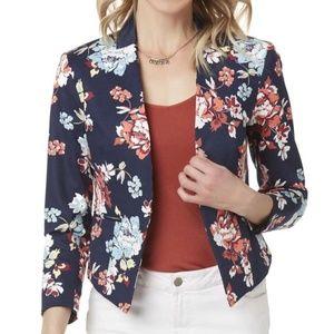 Jackets & Blazers - pretty floral blazer, size Petite XL